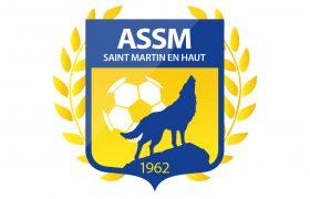 Logo ASSM Football | Benjamin PIEGAY, graphiste à Lyon et dans les Monts du Lyonnais