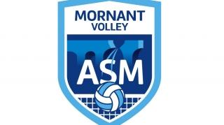 Logo AS Mornant Volley ball | Benjamin PIEGAY, graphiste à Lyon et dans les Monts du Lyonnais