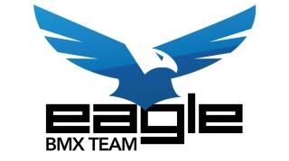 Logo Eagle BMX | Benjamin PIEGAY, graphiste à Lyon et dans les Monts du Lyonnais