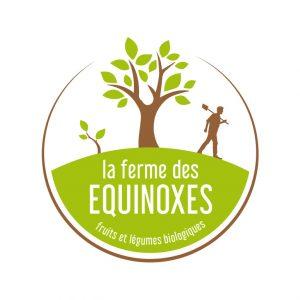 Logo Ferme des Équinoxes | Benjamin PIEGAY, graphiste à Lyon et dans les Monts du Lyonnais