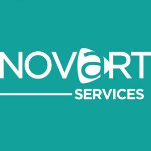 Logo NOVART | Benjamin PIEGAY, graphiste à Lyon et dans les Monts du Lyonnais