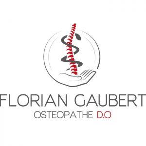 Logo pour FLorian Gaubert ostéopathe | Benjamin PIEGAY, graphiste à Lyon et dans les Monts du Lyonnais