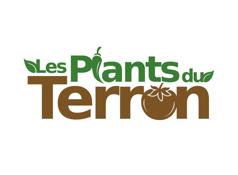 Logo Plants du Terron | Benjamin PIEGAY, graphiste à Lyon et dans les Monts du Lyonnais