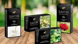 Packaging Savons Direct Nature | Benjamin PIEGAY, graphiste à Lyon et dans les Monts du Lyonnais