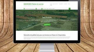 Site internet Palettes du Lyonnais | Benjamin PIEGAY, graphiste à Lyon et dans les Monts du Lyonnais