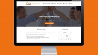 Site internet GELF | Benjamin PIEGAY, graphiste à Lyon et dans les Monts du Lyonnais