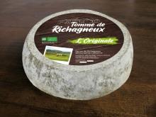 Etiquette tomme de Richagneux