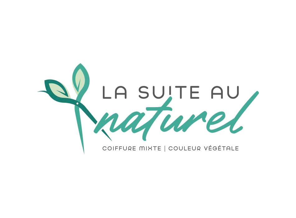 Logo pour La suite au naturel - Salon de coiffure à Saint Martin en Haut